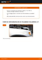 Remblokken veranderen BMW X5: werkplaatshandboek