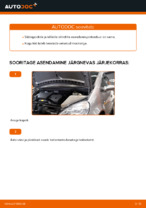Kuidas vahetada süütepoole autol MERCEDES-BENZ A W168