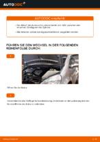 Ratschläge des Automechanikers zum Austausch von MERCEDES-BENZ Mercedes W168 A 170 CDI 1.7 (168.009, 168.109) Scheibenwischer
