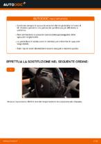 Come sostituire le spazzole anteriori del tergicristallo su BMW 3 (E90)