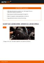 Kuidas vahetada esimesi klaasipuhasteid autol BMW 3 (E90)