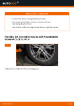 Wie der Austausch von Spurstangenköpfen bei AUDI A4 B6 (8E5)-Autos funktioniert