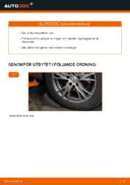 Hur du byter ut styrslagsände på AUDI A4 B6 (8E5)