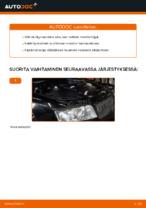 Kuinka vaihtaa moottoriöljyt ja öljynsuodatin AUDI A4 B6 (8E5) malliin