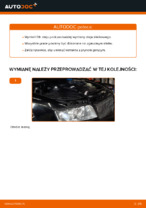 Instrukcja warsztatu dla Audi A4 B8