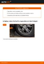 Ako vymeniť čapy tiahla na AUDI A4 B6 (8E5)