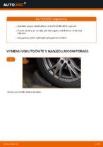Online bezplatné pokyny ako obnoviť Vzpera stabilizátora AUDI A4 Avant (8E5, B6)