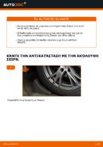 Αλλαγη Ακρα ζαμφορ: pdf οδηγίες για AUDI A4