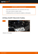 Kaip pakeisti alyvą ir alyvos filtrą AUDI A4 B6 (8E5)