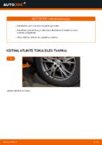 Kaip pakeisti vairo traukės antgalius automobiliui AUDI A4 B6 (8E5)