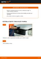 automobilių dalys TOYOTA RAV 4 II (CLA2_, XA2_, ZCA2_, ACA2_) | PDF Instrukcija remonto