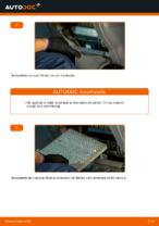 Cum se înlocuiește filtrul de habitaclu al automobilului TOYOTA RAV 4 II