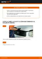 Instrucciones gratuitas en línea sobre cómo renovar Pastilla de freno TOYOTA RAV 4 II (CLA2_, XA2_, ZCA2_, ACA2_)