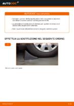 Come sostituire il puntone anteriore dell'ammortizzatore su un'TOYOTA RAV 4 II