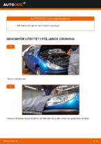 Laga Flerspårsrem: pdf instruktioner för PEUGEOT 206