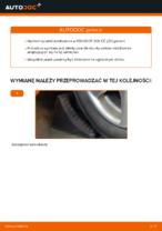 Darmowe instrukcje online jak odnowić Drążek wspornik stabilizator PEUGEOT 206 CC (2D)