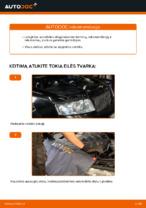 Kaip pakeisti variklio oro filtrą AUDI A4 B6 (8E5)