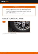 Cum se înlocuiesc amortizoarele suspensiei din spate a autovehiculului AUDI A4 B6 (8E5)