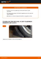 PDF-Tutorial zur Wartung für 206
