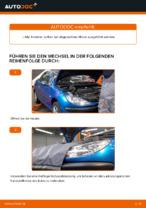 Schritt-für-Schritt-PDF-Tutorial zum Bremssattel Reparatursatz-Austausch beim PEUGEOT 206 CC (2D)