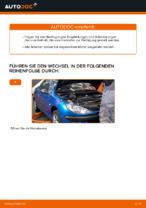 DIY-Leitfaden zum Wechsel von Luftfiltereinsatz beim PEUGEOT 206 CC (2D)