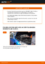 Hilfreiche Fahrzeug-Reparaturanweisung für beschichtet Bremsscheibe PEUGEOT