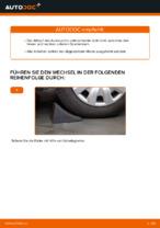 Wie Sie den Unterarm der vorderen Einzelradaufhängung am RENAULT CLIO II ersetzen