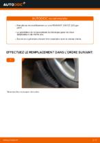 Changer Biellette stabilisatrice arrière et avant PEUGEOT à domicile - manuel pdf en ligne
