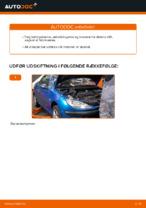 Online gratis instruktioner hvordan skifter man Luftfilter PEUGEOT 206 CC (2D)