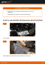 Kuinka vaihtaa moottorin ilmansuodatin AUDI A4 B6 (8E5) malliin