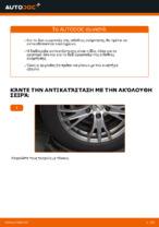 Αντικατάσταση Αμορτισέρ εμπρος AUDI μόνοι σας - online εγχειρίδια pdf