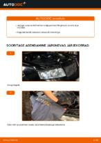 Kuidas vahetada mootori õhufiltrit autol AUDI A4 B6 (8E5)