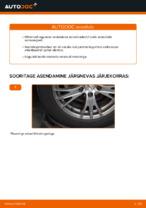 Kuidas vahetada tagumise suspensiooni amortisaatoreid autol AUDI A4 B6 (8E5)