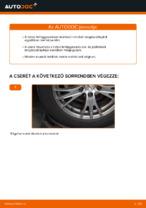 AUDI A4 első és hátsó Lengéscsillapító cseréje: kézikönyv online
