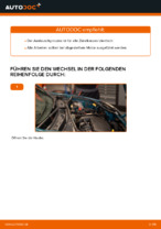 Montage Zündkerzensatz RENAULT KANGOO (KC0/1_) - Schritt für Schritt Anleitung