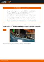 Changer Disque de frein arrière et avant RENAULT à domicile - manuel pdf en ligne