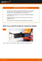 Come sostituire i dischi dei freni anteriori sulla TOYOTA RAV 4 II