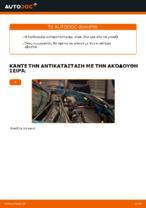 Οι συστάσεις του μηχανικού αυτοκινήτου για την αντικατάσταση RENAULT Renault Kangoo kc01 1.4 Τακάκια Φρένων