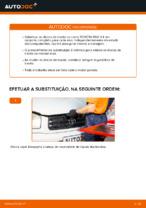Como substituir os discos de travão dianteiros no TOYOTA RAV 4 II