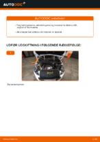 Udskiftning af Luftfilter: pdf vejledning til PEUGEOT 308