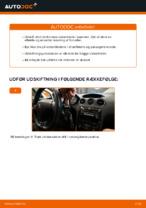 Hvornår skal Vinduesvisker skiftes PEUGEOT 308 (4A_, 4C_): vejledning pdf