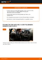 Auswechseln Wischblatt PEUGEOT 308: PDF kostenlos