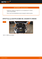 Cambio Filtro aria motore istruzioni pdf per PEUGEOT 308