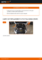 Free online instructions on how to renew Air Filter on PEUGEOT 308 (4A_, 4C_)