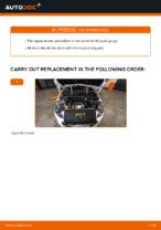 Changing Spark Plug PEUGEOT 308: workshop manual