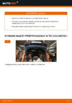 W jaki sposób wymienić przedni łącznik stabilizatora w AUDI A3 8L1