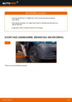 Automehaaniku soovitused, selleks et vahetada välja RENAULT Renault Kangoo kc01 1.4 Piduriklotsid