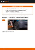 Renault Kangoo KW javítási és karbantartási útmutató