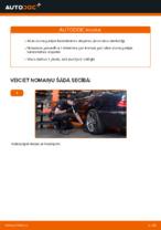 Kā nomainīt aizmugurējās piekares atsperes automašīnai MERCEDES-BENZ E W210