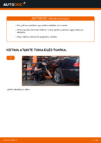 Nemokamos internetinės instrukcijos kaip atnaujinti Spyruoklės MERCEDES-BENZ E-CLASS (W210)